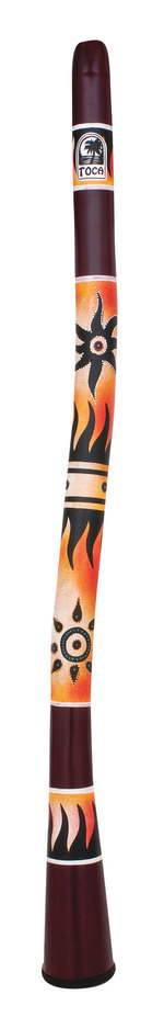 Toca World Percussion Curved Didgeridoos Tropical Sun