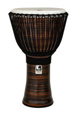Toca Djembe Freestyle II Rope Tuned Spun Copper with Bag