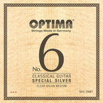 Optima Klassikgitarre-Saiten No. 6 Special Silver Satz Nylon medium