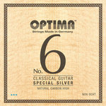 Optima Klassikgitarre-Saiten No. 6 Special Silver Satz Carbon high