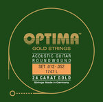 Optima Optima Saiten für Akustikgitarre Gold Strings Satz