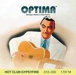 Optima Optima Saiten für Akustikgitarre Hot Club Gypsyfire Versilbert Satz mit Schlinge