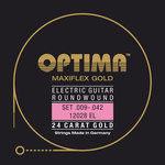 Optima E-Gitarre-Saiten Gold Strings. Maxiflex Satz