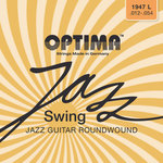Optima E-Gitarre-Saiten Jazz Swing Series Round Wound Satz