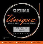 Optima Optima Saiten für E-Bass Unique Studio Chrome Strings 5-stri. long