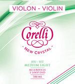 Corelli Violin-Saiten New Crystal Light