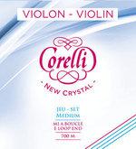 Corelli Violin-Saiten New Crystal Medium