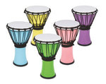 Toca Djembe Freestyle Colorsound Pastel Pastel Purple