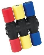Latin Percussion Shaker Twist Shaker Extension Loud (Red)