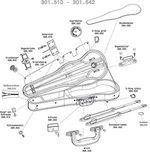 GEWA Cases Violinformetui Liuteria Maestro 1/2