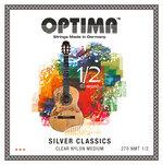 Optima Optima Saiten für Klassik-Gitarre SILVER CLASSICS Kindergitarre Satz 1/2