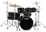 PDP by DW Drumset Concept Maple Silver to Black Sparkle Fade