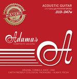 Adamas Saiten für Akustikgitarre Adamas Historic Reissue Phosphor Bronze 12-str. Light .010-.047