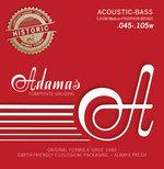 Adamas Akustik-Bass Saiten Phosphor Bronze Satz 4-string Med