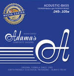 Adamas Akustik-Bass Saiten Nuova coated beschichtet Satz 4-string Med-Light