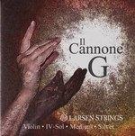 Larsen Larsen Saiten für Violine Il CANNONE G Silber Soloist