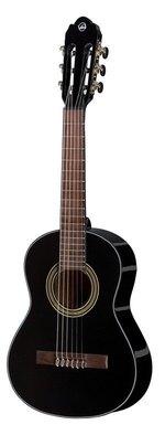 VGS Konzertgitarre Student Schwarz 1/4 Größe schwarz