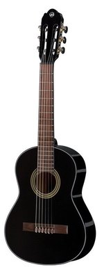 VGS Konzertgitarre Student Schwarz 1/2 Größe schwarz