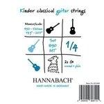 Hannabach Klassikgitarre-Saiten Serie 890 1/4 Kindergitarre Mensur: 49-52cm Satz