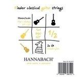 Hannabach Klassikgitarre-Saiten Serie 890 1/2 Kindergitarre Mensur: 53-56cm Satz