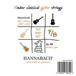 Hannabach Klassikgitarre-Saiten Serie 890 7/8 Kindergitarre Mensur: 62-64cm Satz