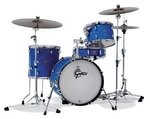Gretsch Kesselsatz Catalina Club Blue Satin Flame