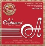 Adamas Adamas Saiten für Akustikgitarre Historic Reissue Phosphor Bronze Round Core Super Light .011-.052
