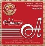 Adamas Adamas Saiten für Akustikgitarre Historic Reissue Phosphor Bronze Round Core Super Light .011-.052