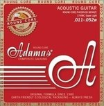 Adamas Akustik-Gitarren Saiten Historic Reissue Phosphor Bronze Round Core Super Light .011-.052