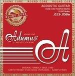 Adamas Akustik-Gitarren Saiten Historic Reissue Phosphor Bronze Round Core Medium .013-.056
