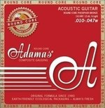Adamas Akustik-Gitarren Saiten Historic Reissue Phosphor Bronze Round Core 12-str. Light .010-.047