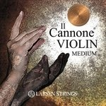 Larsen Violin-Saiten Il CANNONE Satz medium mit A Warm&Broad
