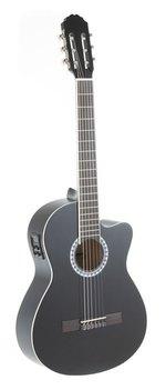 PURE GEWA E-Akustik Klassikgitarre Basic E-Akustik, schwarz