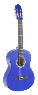 PURE GEWA Klassikgitarre Basic 3/4 transparent blau
