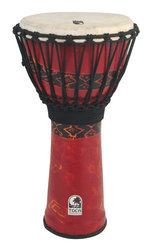 Toca Djembe Freestyle Rope Tuned Bali Red