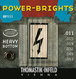 Thomastik-Infeld E-Gitarre-Saiten Power Brights Series Satz 011 heavy