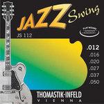 Thomastik-Infeld Thomastik Saiten für E-Gitarre Jazz Swing Series Nickel Flat Wound Satz 013 flatwound