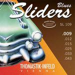 Thomastik-Infeld E-Gitarre-Saiten Sliders Blues Series Satz 009 light