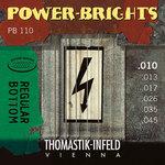 Thomastik-Infeld E-Gitarre-Saiten Power Brights Series Satz 010