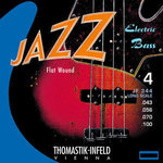 Thomastik-Infeld E-Bass Saiten Jazz Bass Flat Wound Satz 4-str. long