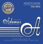 Adamas Akustik-Gitarren Saiten Nuova Phosphor Bronze beschichtet Extra Light .010-.047