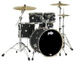 PDP by DW Shellset Concept Maple Finish Ply Satin Black