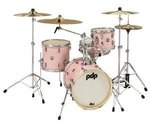 PDP by DW Shellset New Yorker Pale Rose Sparkle