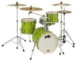 PDP by DW Shellset New Yorker Electric Green Sparkle