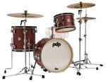 PDP by DW Shellset Concept Classic  Wood Hoop Ox Blood Stain/Ebony Hoop