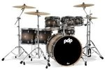 PDP by DW Drumset Concept Maple Satin Charcoal Burst