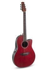 Applause E-Akustikgitarre AB24II CS Mid Cutaway Ruby Red Satin