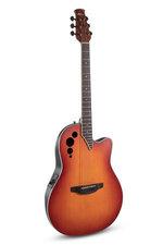 Applause E-Akustikgitarre MS Steel-String E-Akustikgitarre AE48-1I SSB Honeyburst Satin