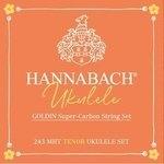 Hannabach Ukulele-Saiten Tenor Ukulele  Goldin 243MHT Satz Satz Tenor