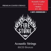 GEWA STRINGS FOR ACOUSTIC GUITAR FIRE&STONE SET 80/20 BRONZE